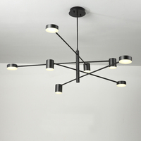 led chandelier lighting for Living dining room Bedroom lustres de modern chandeliers lights home deco lights