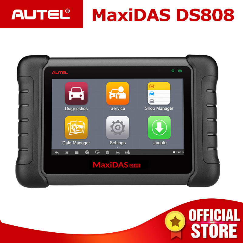Autel MAXIDAS DS808 OBD2 Scanner Diagnostic Auto Tool OBD 2 Automotive ECU Tester ODB2 Key Programmer