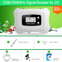Large Coverage 900mhz Cell Phone Booster GSM 2G Mobile Signal Booster Antenna For 2G Mobile Phone