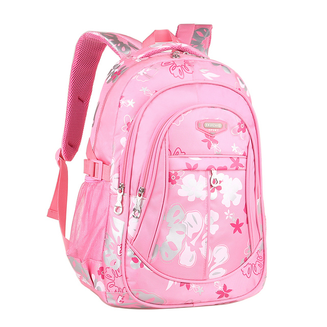 School Backpacks for Girls Women Backpack School Bags Mochila Escolar Children Kids Backpacks Fashion Q0