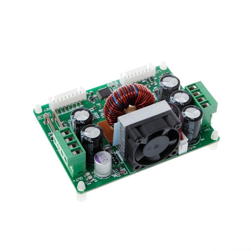 DPS3012 Регулируемая постоянная Напряжение понижающий ЖК-дисплей Питание модуль вольтметр Напряжение стабилизаторы #0406