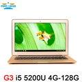 Aluminium Core I5 5200U ноутбук 4 ГБ RAM 128 ГБ SSD 13.3 дюймов 1920*1080 экран HD USB 3.0 HD 5500 graphics I5 компьютера