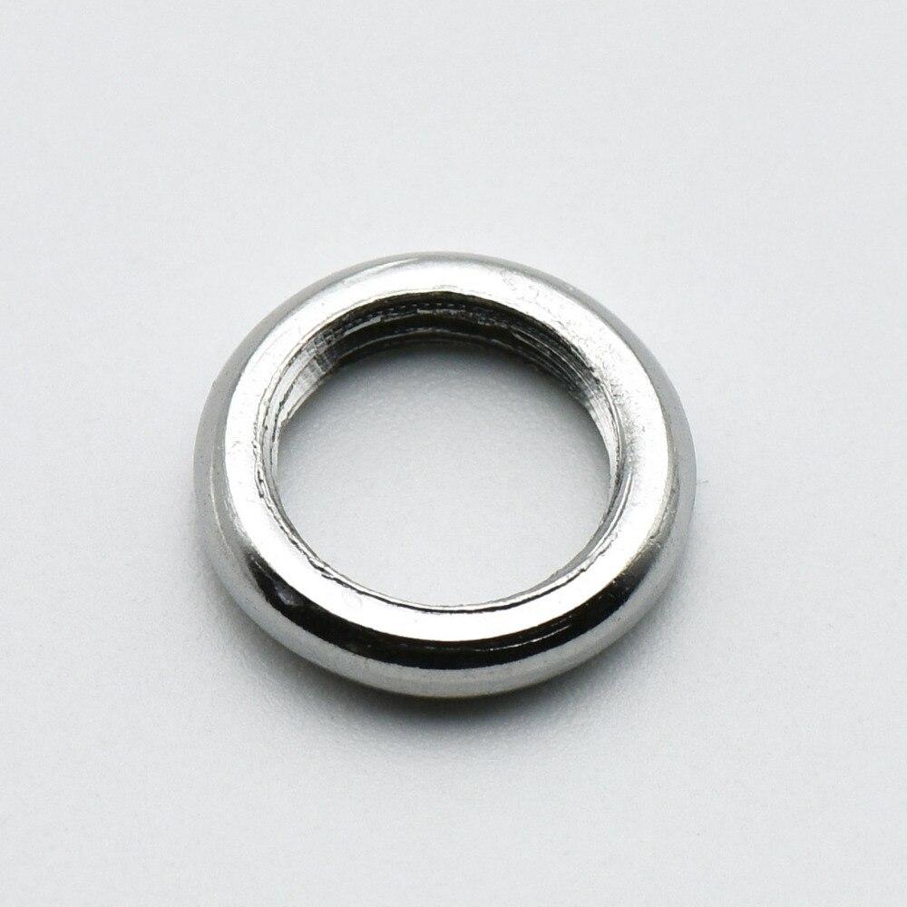 M10 гайки зуб трубки 10 мм винт круглая шайба сплав лампа колпачок для гайки и винта DIY осветительное оборудование 100 шт