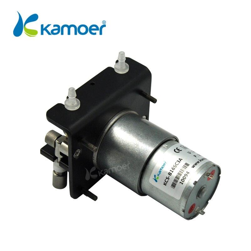 Kamoer KCS мини перистальтический Pump12V/24 V электрический маленький водяной дозирующий насос с двигателем постоянного тока (силиконовая трубка, т... - 3
