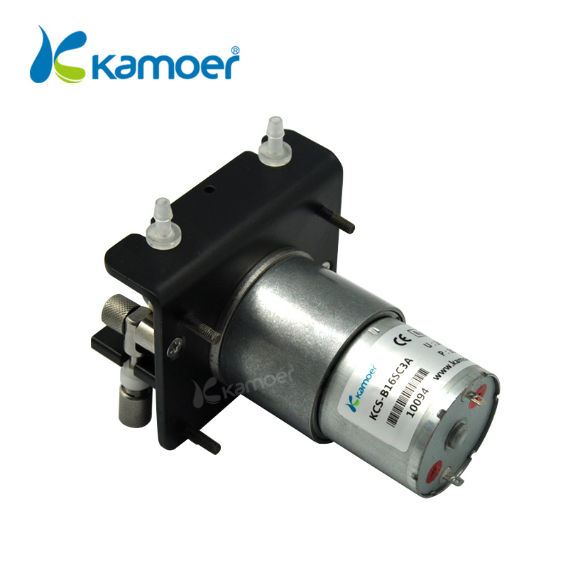 Kamoer KCS Mini Peristaltic Pump12V/24V Electric Small Water Dosing Pump With DC motor(Silicone tube, BPT Tube) - 3