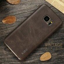 Х уровень Ретро роскошь PU Кожа Case Fundas спс Samsung Galaxy S6 G920F case Для Samsung Galaxy S6 Edge Телефон Shell Case крышка