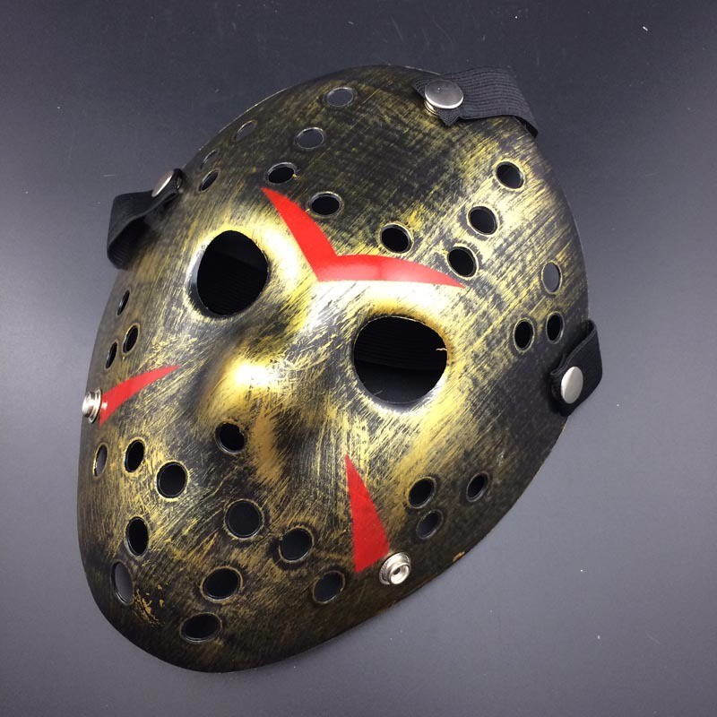 Halloween Jason.Us 4 84 10 Off Halloween Jason Voorhees Mask Hockey Festival Party Masquerade Mask Vintage Silver Color New Make Old Cosplay In Boys Costume