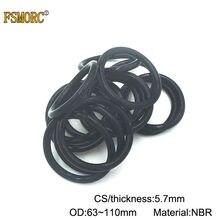 10x 73 x 2.5mm Nitrile 70 O/'Ring