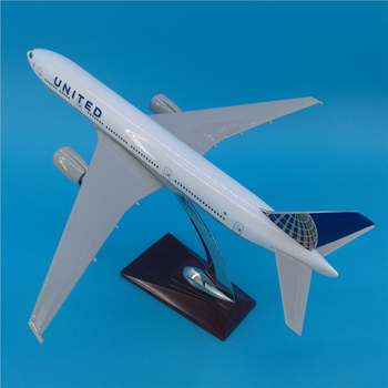 32CM Airways Boeing B777 USA American UNITED Airlines Airplane Model Toys Aircraft Diecast Plastic Alloy Plane Gifts for Kids