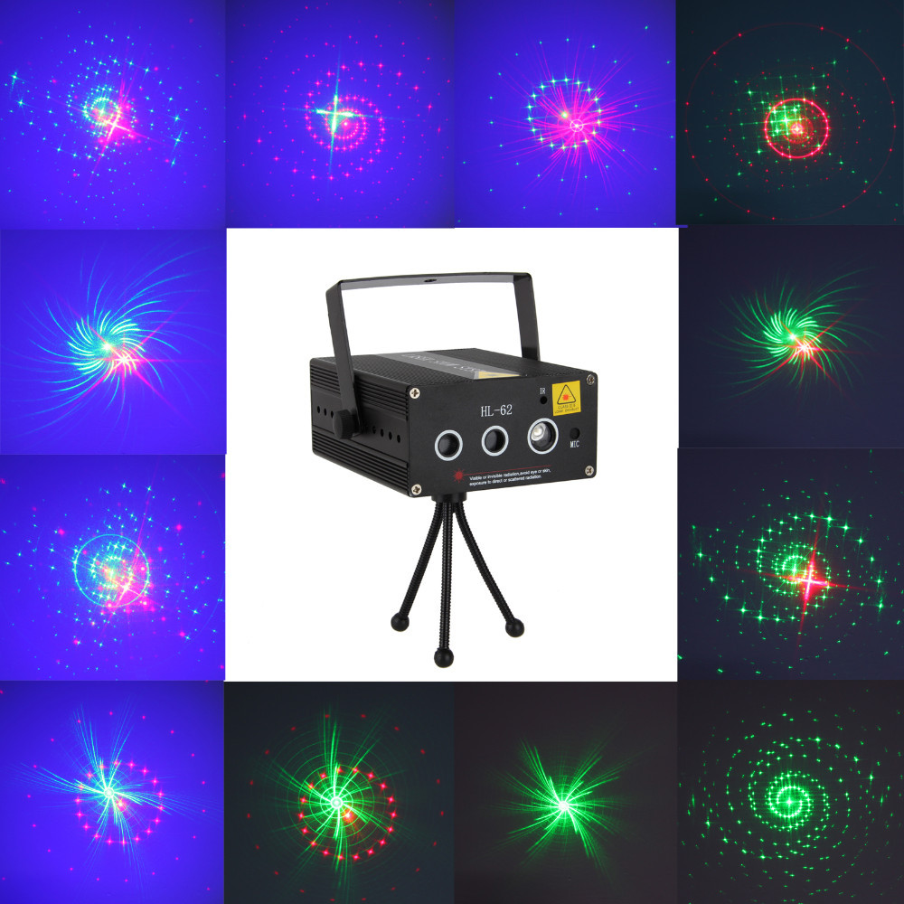 3 Lens 40 Patterns RG Green Red Laser BLUE LED Stage Lighting Bar DJ Show Light rg mini 3 lens 24 patterns led laser projector stage lighting effect 3w blue for dj disco party club laser