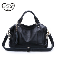 купить Genuine Leather Bag New Leather Bag With Single Shoulder Bag Luxury Handbags Women Bags Bolsa Feminina Channels Handbags дешево