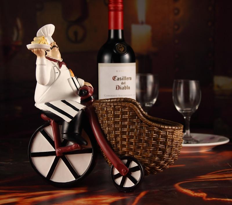 Cremalheira do vinho/Bar restaurante café enfeites criativos/resina Europeia vermelho/vinho De Mesa Mobiliário de Casa decoração sala de estar/z - 4