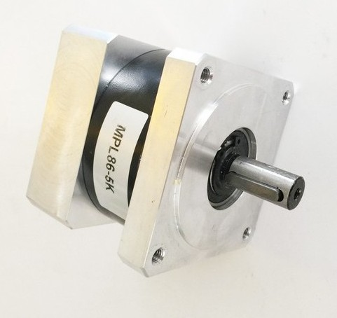 2pcs/lot 20: 1 NEMA34 planetary reducer for NEMA 34 stepper motor 50N. M (6944oz-in) Rated torque 14 mm input and 16 mm output 2pcs lot high torque planetary gearbox is a no 17 stepping motor 788 oz in 15 1 20 1 25 1 with a 34 mm motor body length