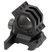 Hunting QD Quick Release Scope Mount 30mm 25.4mm 1 Rings Fits Picatinny 20mm Barrel Weaver Rails Free Shipping