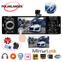 Car Mirror Link radio cassette player Autoradio Touch Screen Rear view camera auto audio Car Radio Microphone Stereo auto tapes
