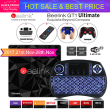 Beelink GT1 Ultimative TV Box 3G 32G Amlogic S912 Octa-core CPU DDR4 2,4G + 5,8G Dual WiFi Android 7.1 Satz Top Box Media Player X92