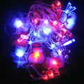 4M 20LEDS RGB AC110V-220V Santa Claus Xmas  oliday light String Fairy Merry Christmas Light