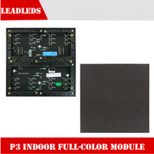 P3 indoor full color led module,1/16 Scan 3in1 RGB high-definition full-color video led display unit panel