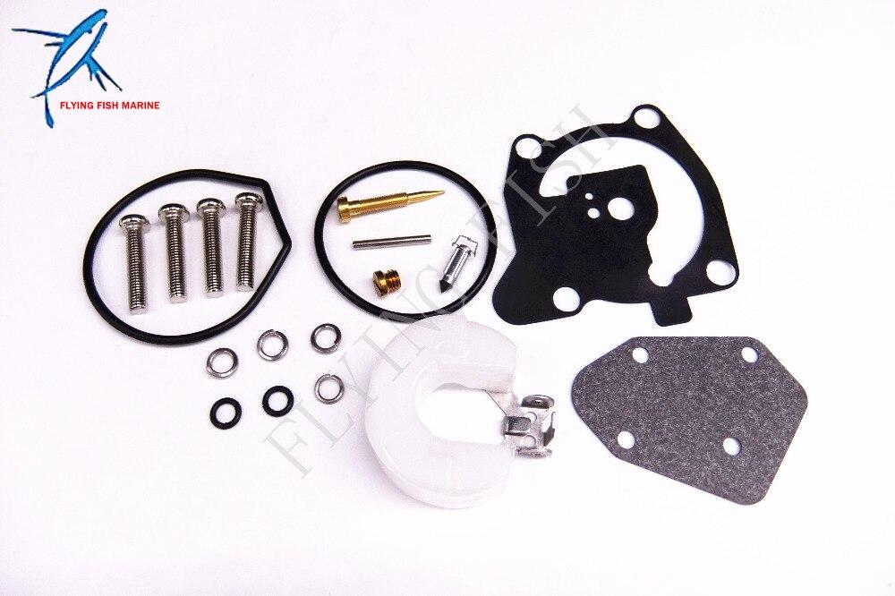 3551b3928573 Fueraborda Motores Carburadores kit de reparación 66t-w0093-00-00 para  Yamaha 40hp barco Motores e40x