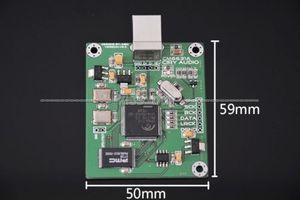 Image 3 - CM6631A บอร์ด DAC ดิจิตอลการ์ดอินเทอร์เฟซ USB IIS เอาต์พุต SPDIF 24Bit 192 พัน 384 พัน ASIO