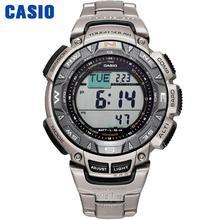 Casio izlemek g şok izlemek erkekler üst marka lüks askeri dijital bilek saati 100m Su geçirmez dağ saatler kuvars spor erkekler saat Aydınlık Dalgıç Üçlü Sensör Dijital pusula Güneş erkek izlemek relogio часы reloj