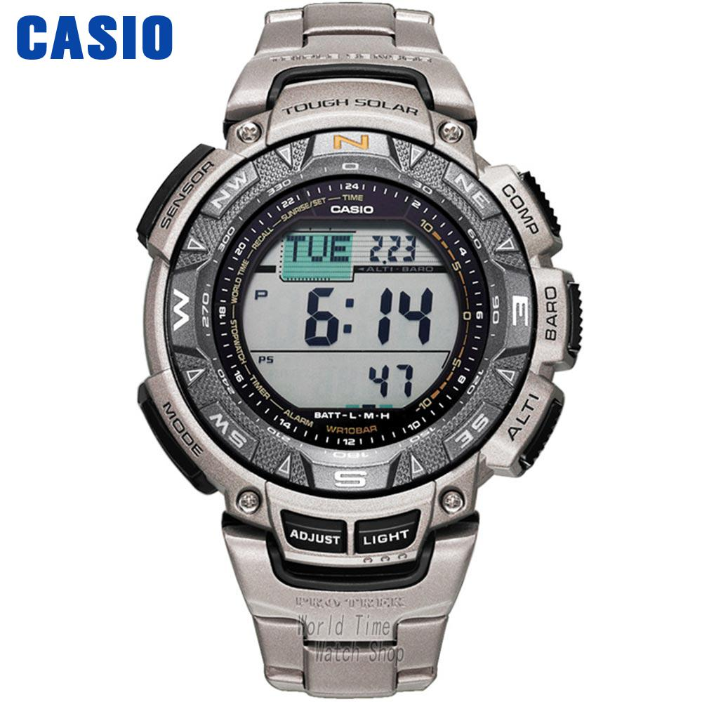 Casio watch Protrek Men's quartz waterproof sports watch mountaineering solar wave PRG-240