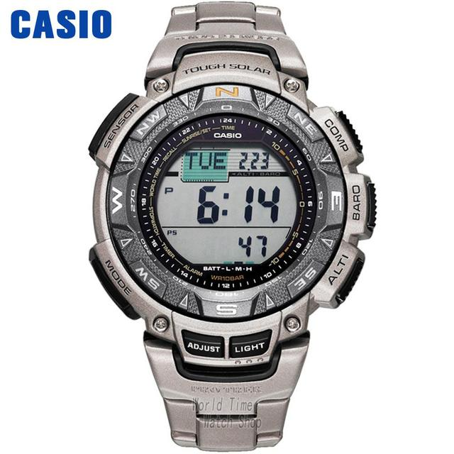 3a36afb0f86 Casio watch Protrek Men s quartz waterproof sports watch mountaineering  solar wave PRG-240