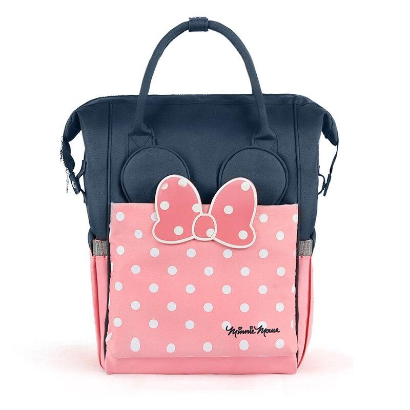 Disney sac à dos à couches momie sacs d'isolation sac à couches thermique haute capacité bébé biberon sacs sac à dos bébé sacs