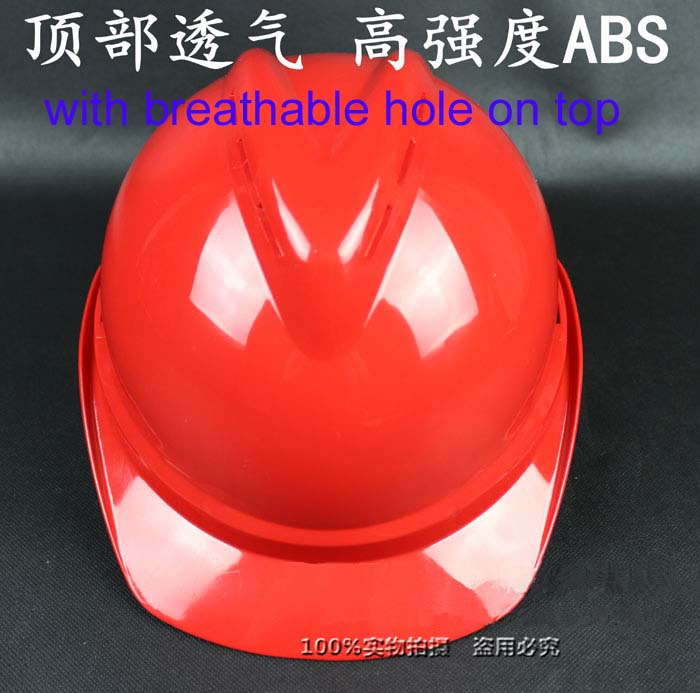 Safety Helmet Workplace Safety Supplies Original Free Shipping 30pcs/lot Luxury V-style High Strength Abs Smash-proof Construction Safety Working Helmet Hard Hat Ample Supply And Prompt Delivery