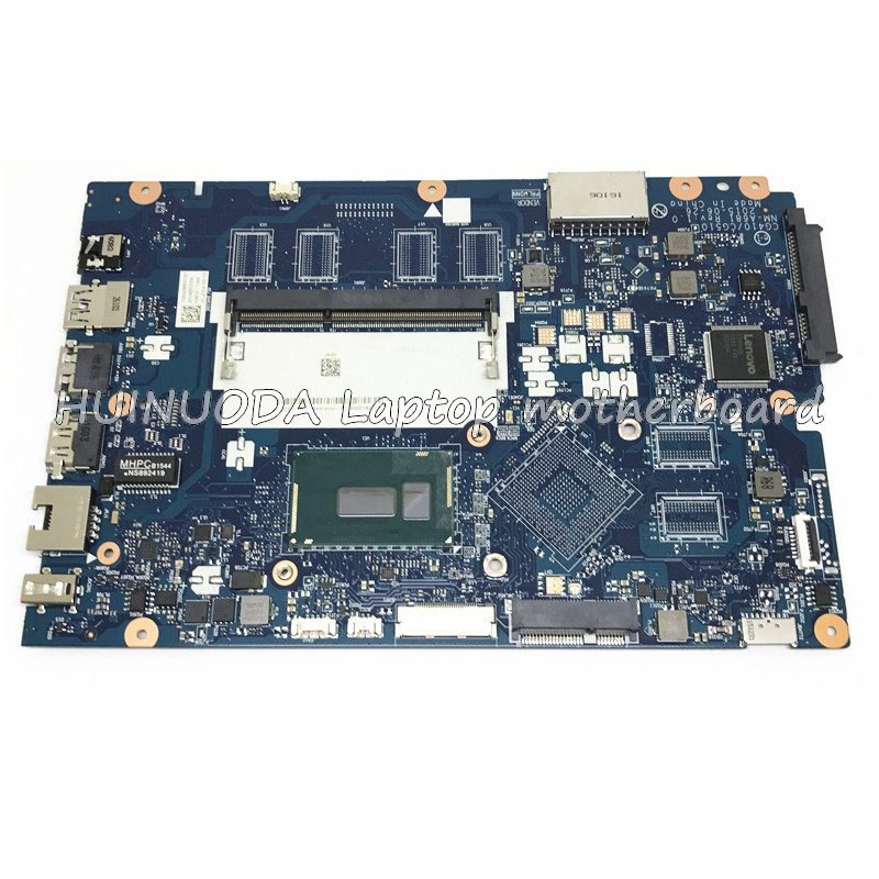 Laptop motherboard for Lenovo Ideapad 100-15IBY 100-15IBD CG410/CG510 NM-A681 SR240 I3-5020U DDR3 mainboard works full test for lenovo ideapad g710 z710 motherboard dumbo2 rev2 1 mainboard gt745 2g non intergated 100