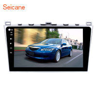 Seicane Android 6.0 10.1 inch Car Radio DVD Multimedia Payer Bluetooth GPS System For 2008 2015 Mazda 6 Ruiyi Ultra with 2G 32G