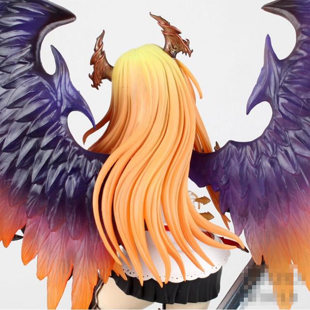 Kotobukiya Rage Of Bahamut 29cm Dark Angel Olivia Ani Statue Sexy Brinquedos Action Figure Anime Game Figure Action & Toy Figure