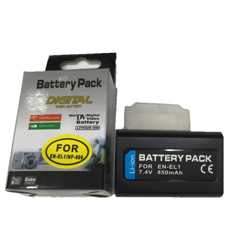 EN-EL1lithium аккумуляторная батарея en EL1 цифровых фотокамер для Nikon Coolpix 8700 5700 <font><b>4500</b></font> 4300 4800 5000 5400 775 885 995 e880
