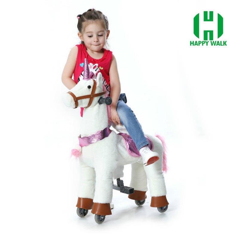 HI CE caballo de juguete al aire libre del patio sobre ruedas, - Deportes y aire libre - foto 4