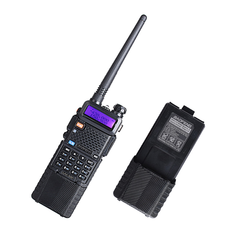 1Pz Baofeng uv-5r ham radio 3800mAh battery dual band radio 136-174 mhz e 400-520 mhz baofeng uv5r radio del palmare 2 way radio