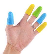 Finger Caps 3/5pcs Protector for High Temperature Resistant Anti-slip Hot Glue Gun Silicone Cover