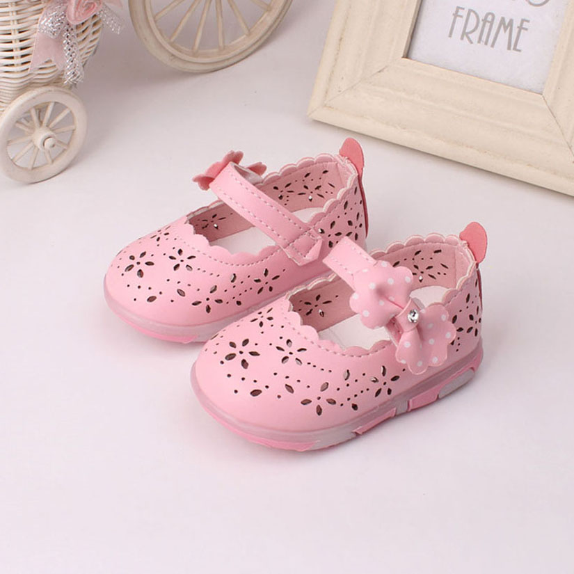 First Walkers Mother & Kids Baby Shoes Toddler Shoes Baby Shoes Girls Baby Princess Toddler Shoes Fashion Bowknot Dot Shoes Baby Shoes Girls 50% OFF