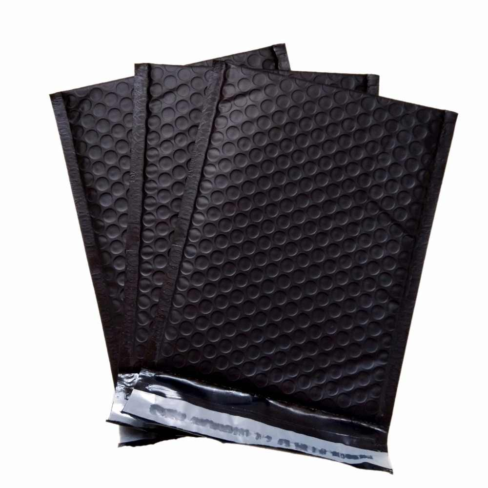 HARDIRON 30PCS PPoly Bubble Mailing Mailer Shipping Padded Envelopes Bags Thicken Black Color Shockproof CourierBubble  Pouches