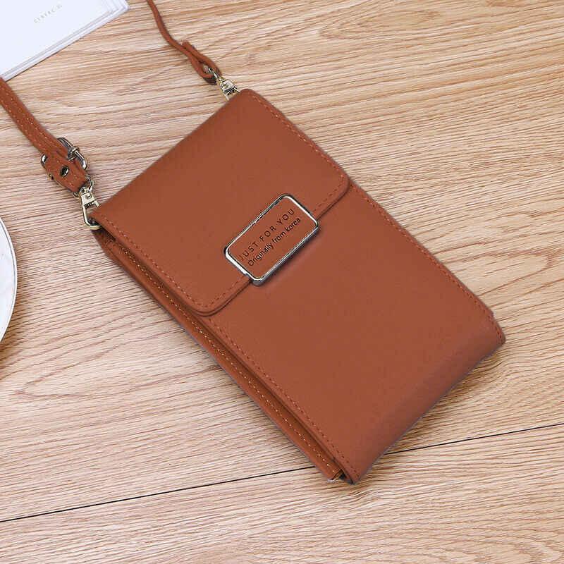 新しい女性の多機能財布財布 PU コイン携帯電話ミニクロスボディメッセンジャーショルダーバッグ高品質