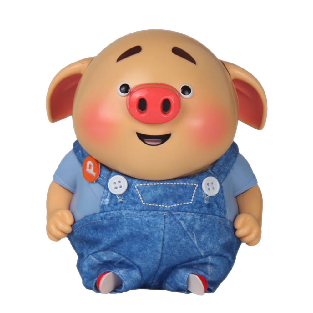 Hot Selling Electric Pig Toy Talking Music Sound Recording Toy for Family Set Interactive Baby Kids Toys