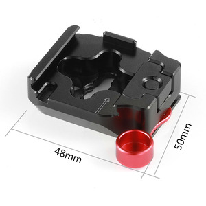 Image 2 - SmallRig Quick Release Mounting Clamp for Tilta Nucleus Nano Hand Wheel Controller Clamp Plate With Threading Holes  2323