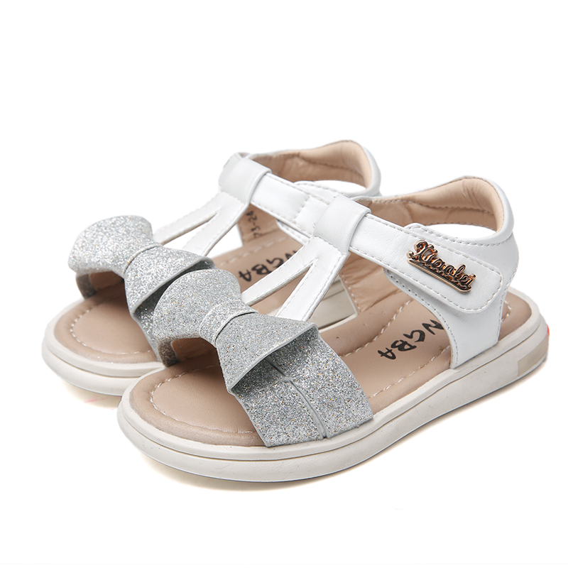 2018 NEW Children Summer Shoes Sandals Genuine Leather Orthopedic shoes+inner 13.7-15.7cm, Kids/childs