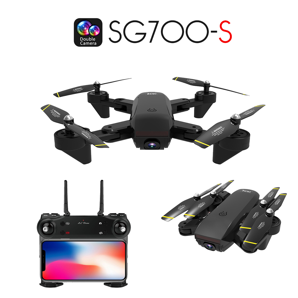 rc dron camara hd 1080P drone quadcopter camera drone video camera remote control toys for children sg700 s kids aircraft drone-in RC Helicopters from Toys & Hobbies    1
