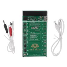 цена на W209A+ Mobile Phone Battery Activation Fast Charge Board+Micro USB Cable for iPhone 4-8P X Samsung