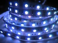 бесплатная доставка 5 м / рулон белый красный синий зеленый теплый белый 5050 СМД из светодиодов GI Лос 300 светодиоды номера-водоустойчивая 2 шт./лот