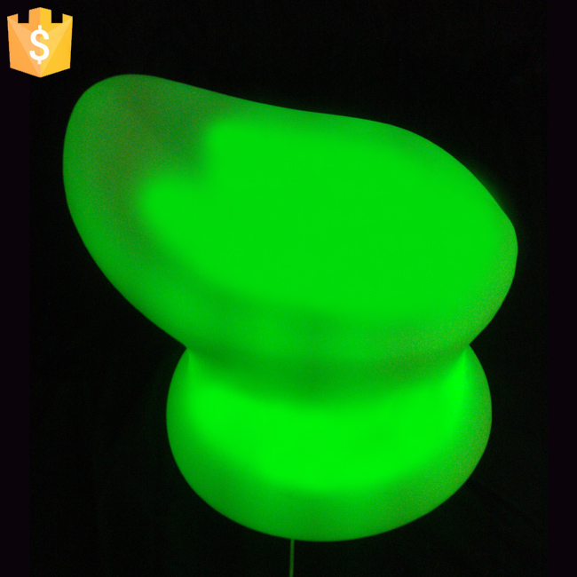 Glowing In Dark Bar Furniture Children Chairs Portable Outdoor Sports Child Mini Sofa Bar Chair  Free Shipping 10pcs/Lot