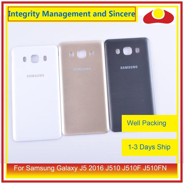 Original For Samsung Galaxy J5 2016 J510 J510F J510FN J510H J510G Housing Battery Door Rear Back Cover Case Chassis Shell
