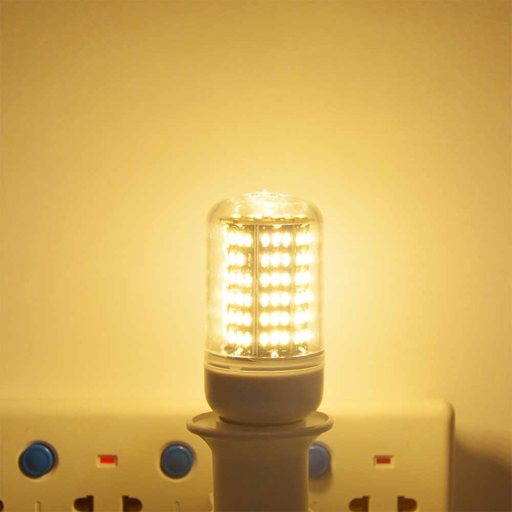 שטף האור הזוהר גבוה במיוחד 4014SMD E27 E14 הנורה תירס מנורת LED 38/55/78/88/140 נוריות נברשת 220 V ללא ריצוד נורות LED ספוט אור