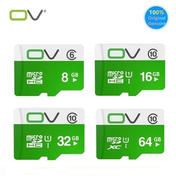 Gorąca sprzedaż TF karta micro sd 64GB 32GB 16GB 8GB karta pamięci Flash C10 80 M s nadaje się do rejestratora karty pamięci telefonu komórkowego tanie i dobre opinie 80MB S OV-TF-8G-128GB Tf micro sd card