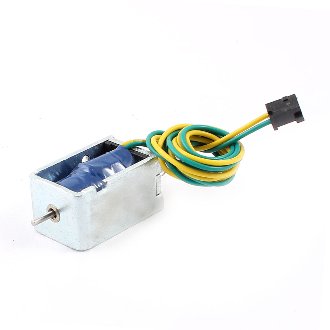 UXCELL 5Mm/85G 7.99W Power Wired Open Frame Push Pull Type Solenoid Electromagnet 12V 0.66A цена